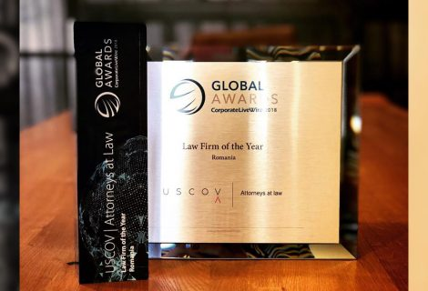 "USCOV | Attorneys At Law is the Winner of ""Law Firm of The Year"" 2018 Award"